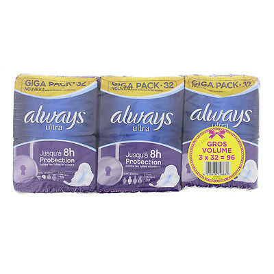 Always ultra long X32 lot de 3X32