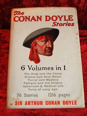 Arthur Conan Doyle - First Edition & First Print with RARE Original Dust Jacket