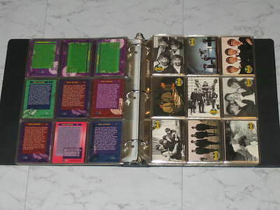 1993 Beatles River Group,Complete Set Of 220 Cards in Generic Binder, Mint !!!!