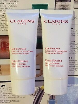 2 x Clarins Extra Firming Body Cream 100ml