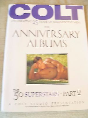 Highly collectable - Vintage COLT Magazine - celebrating 25 years - Gay Interest