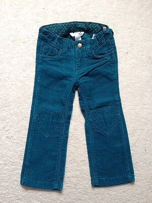 Girls H&M Cord Trousers Age 2-3 Years
