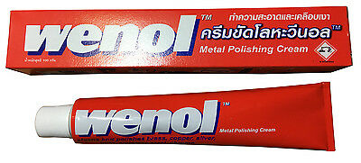 New Red Wenol Metal Polish Cleaner All For Brass Copper Stainless Steel Tube++