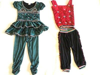 2 x GIRL'S ETHNIC OUTFIT SIZE 2/3 YEARS