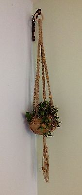 Macrame Plant Hangers 'chunky 3' Unique Christmas Gift