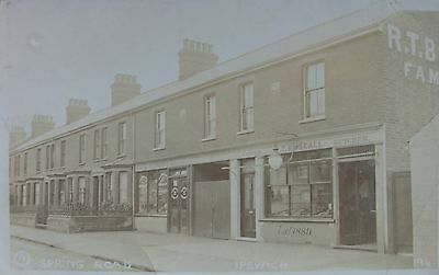 Waspe & Buscall Shopfronts Spring Road Ipswich Suffolk Early Rp Pc - Cheryl?