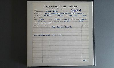 C.W.GLUCK-Orfeo Ed Euridice-ROYAL OPERA HOUSE-SOLTI-1970-MASTER TAPES