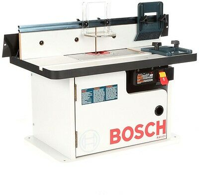 Laminated Router Table with Cabinet Aluminum Mounting Plate Power/Cutting Tool