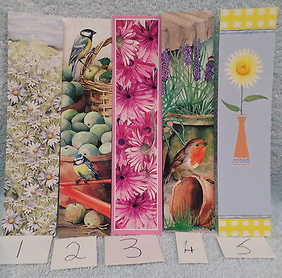 5 x laser cut bookmarks lot 5