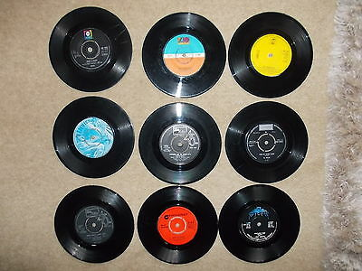 """9 x 70's Pop / Soul 7"""" Singles - All with damage. Listing 1"""