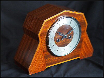 Art Deco Enfield Stiking Mantel Clock