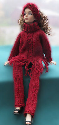 Tonner doll hand knitted outfit