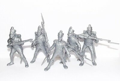 Russian toy soldiers. Tehnolog. Napoleonic wars. French army.