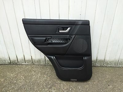 Range Rover Sport N/S Rear Black Leather Door Card **FULL SET AVAILABLE**