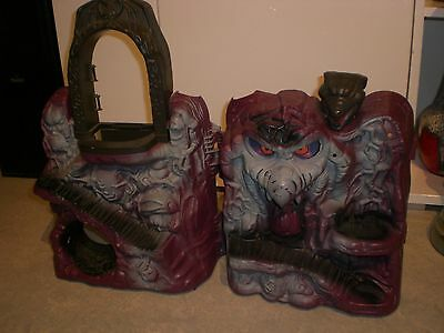 MOTU MASTERS OF THE UNIVERSE °SNAKE MOUNTAIN° incl. Micro HE-MAN MATTEL 1983