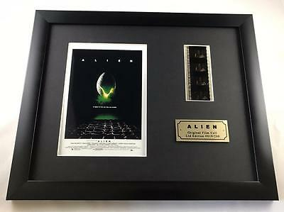 "ALIEN LTD EDITION 10"" X 8"" GENUINE 35MM FILM CELL with C.O.A."