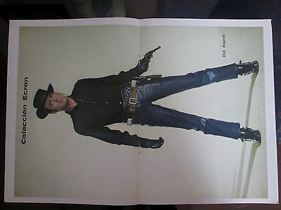 Dirk Bogarde Celebrity Poster 1968 From A Magazine In Spanish