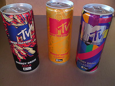 MTV Energy drink  Serbian can choose between three different