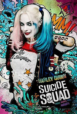 SUICIDE SQUAD HARLEY QUINN 11x17 MINI MOVIE POSTER COLLECTIBLE