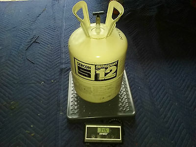 R-12 REFRIGERANT FREON R12  30lb 30 POUND 30# Tank NOS VIRGIN SEALED PURE