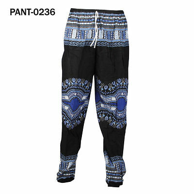 New Unisex/Men/Women African Harem Pants Trousers Yoga/Beach Size Fit M, UKsell