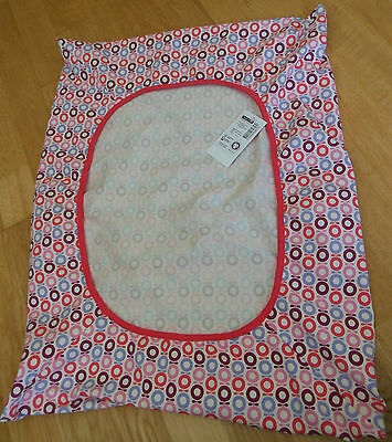 Katvig Pink & Aster Mini Apple pamper cover organic cotton BNWT designer