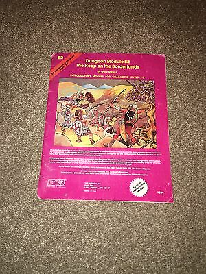 B2 keep on the borderlands D&D RPG basic dungeon and & dragons adventure module