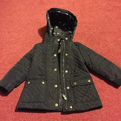 Girls Age 3-4yrs Winter Coat