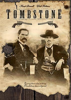 TOMBSTONE VINTAGE 11x17 MOVIE POSTER COLLECTIBLE