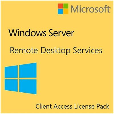 Windows Server 2012 R2 Remote Desktop - 5 Devices - RDS CAL Pack