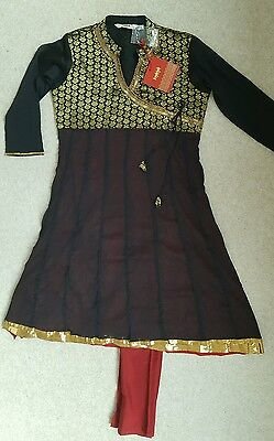"Beautiful Womens Indian suit/dress- size M- by ""Kashish"" BNWT"