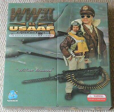 dragon action figure did bowman us airforce usaaf 1/6 12'' boxed toy ww11