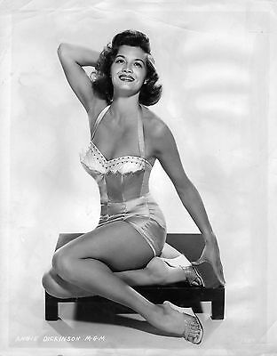 "ANGIE DICKINSON 58-YEAR-OLD ORIGINAL 8x10"" VINTAGE MGM STUDIO PHOTO 1958"