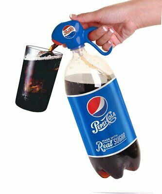 Pepsi Heritage Soda Dispenser 2 Liter Pop Bottle Pour Spout Fountain Fizz Keeper