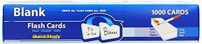 Blank Flash Cards  Quickstudy  Flash Cards