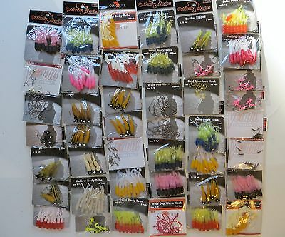 NEW Outdoor Angler Vicious Fishing Conquer 44 Packs Fishing Lures Free Shipping!