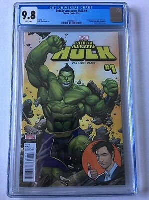 TOTALLY AWESOME HULK #1 CGC 9.8 (NM+/M) 1st Appearance Lady Hellbender