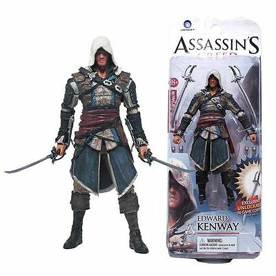 """Edward Kenway Assassin´s Creed 15 cm- action figure 6"""" in blister"""