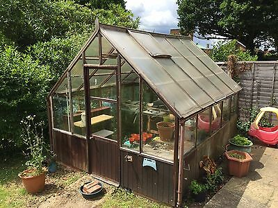 Large Greenhouse 10.5ft x 9 ft Large - Glass Green House