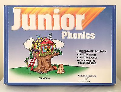 Junior Phonics A Better Way of Learning 1996 Complete Homeschool Education Kit