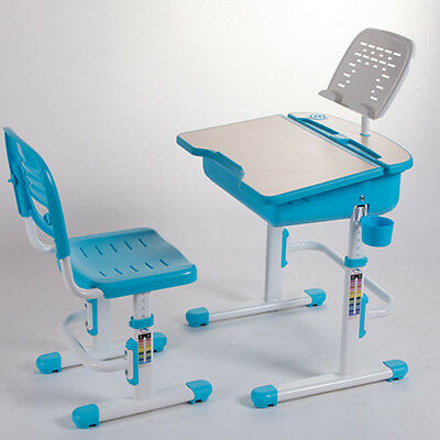 Kids Study Desks & Chairs Suite, Height Adjustable, Ergonomic Design