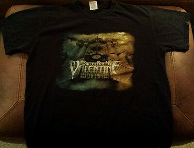 Authentic Bullet For My Valentine Tour Shirt