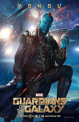 GUARDIANS OF THE GALAXY YONDU 1X17 Movie Poster collectible RARE CLASSIC
