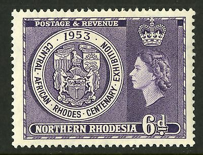 Northern Rhodesia  1953  Scott # 59  Mint Very Lightly Hinged