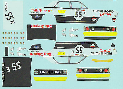 1:43 Waterslide decals 1970 Bathurst XW Ford Falcon 55E David McKay