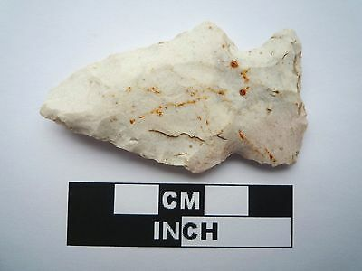 Native American Arrowhead 56mm, Genuine Archaic Artifact, 1000BC-8000BC (0812)