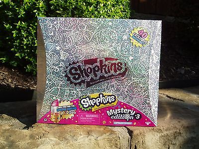 Shopkins MYSTERY EDITION #3 -  40 Exclusive Shopkins