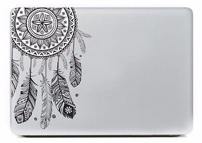 Feather Pattern Vinyl Decal Laptop Skin Cover Sticker For Apple Macbook Air Pro