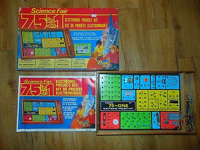 Science Fair 75 N 1 Cat No. 28-247 Made In Japan For Radio Shack Must See