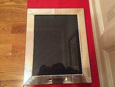 """RALPH LAUREN STERLING SILVER PICTURE FRAME ( 11 1/2"""" by 9 1/4"""" )"""